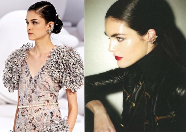 Desfile Primavera-Verão 2012 da grife Chanel e editorial de moda com foto de Ezra Petronio.